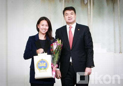 Woman of the year by Prime Minister of Mongolia 2016